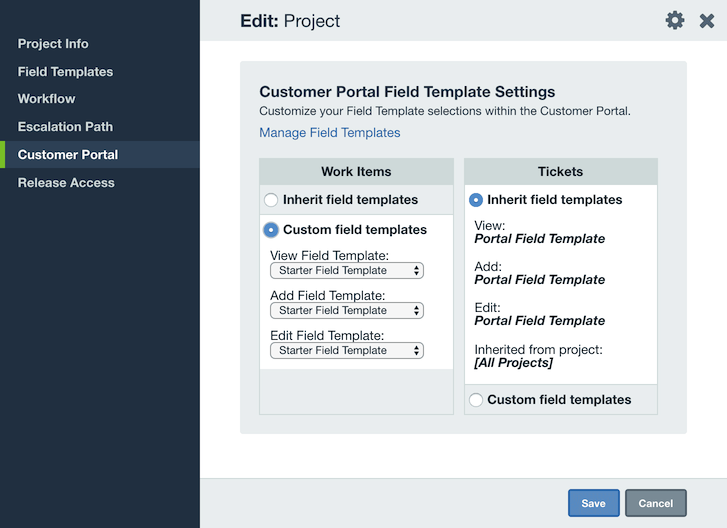 Editing Field Templates   Axosoft Documentation