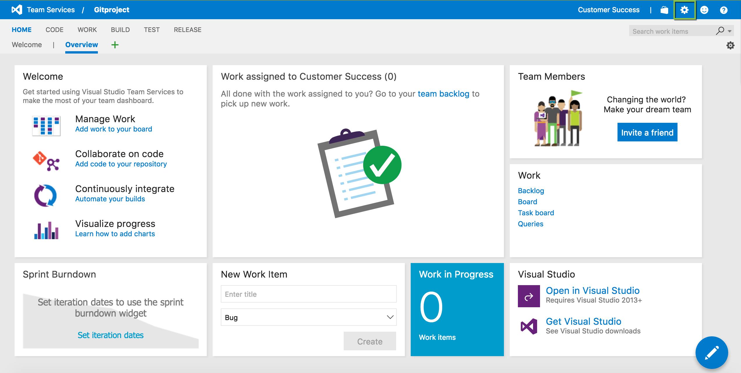Visual Studio Team Services | Axosoft Documentation