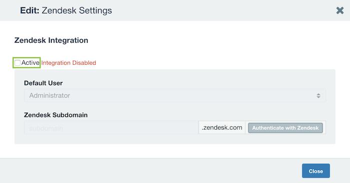Zendesk | Axosoft Documentation