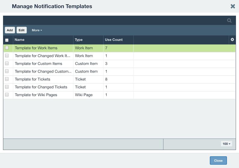 notification templates axosoft documentation